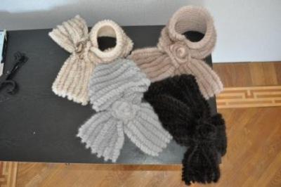 вязаные шарфы модные вязаные шарфы