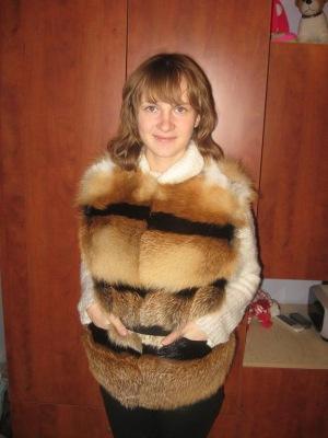 связать меховую жилетку - Выкройки одежды для детей и взрослых